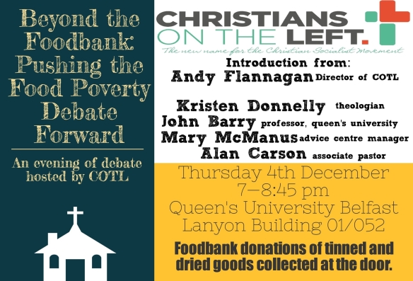 COTL food poverty event