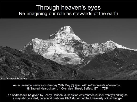 Through heavens eyes_advert
