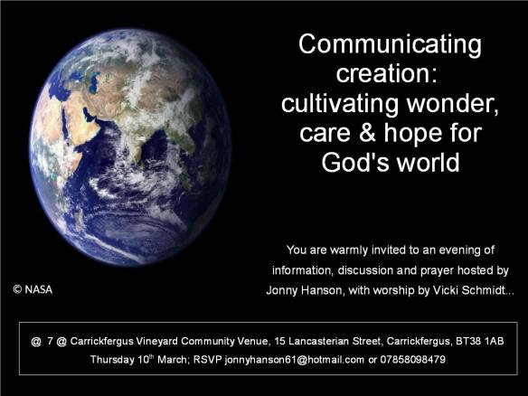 Communicating creation_invite