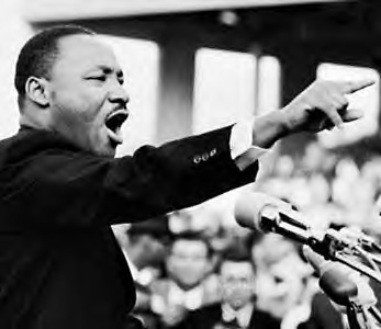 Martin Luther King Jr by Athena LeTrelle
