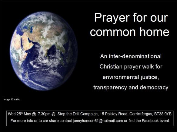Prayer for our common home_invite
